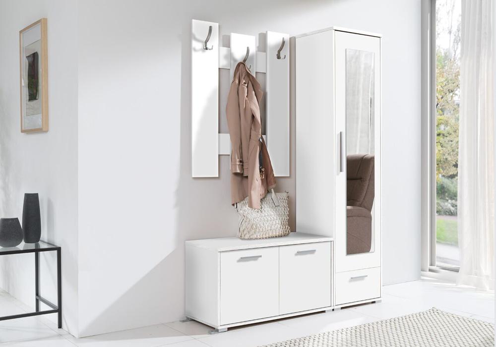 Garderoba HIT biała od LUXOR MEBLE